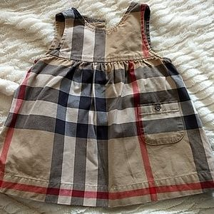 Gorgeous Burberry dress for baby girl